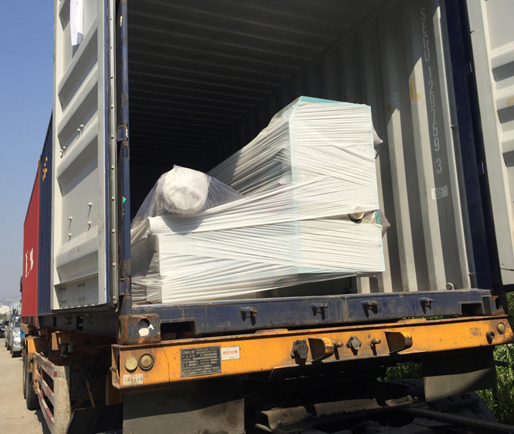 Shipping information of the company